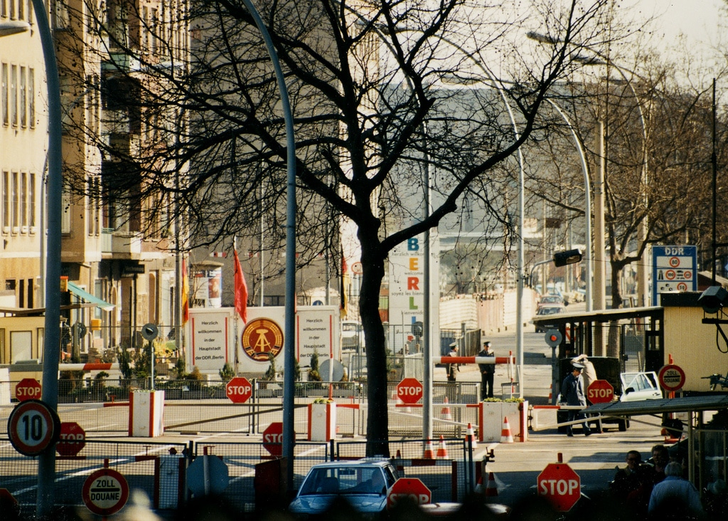 DDR berliner mauer photo