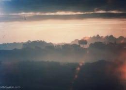 Sonne in der Toskana