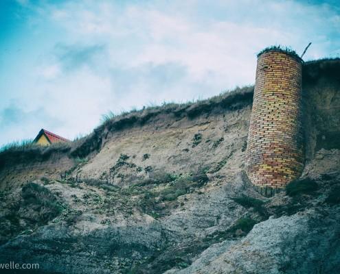 Steilküste in Dänemark