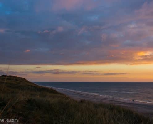 Dänemark-Sonnenuntergang