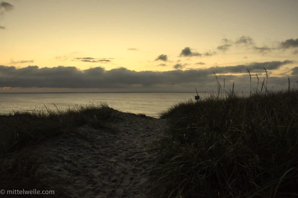 Bild von der Nordsee in Dänemark